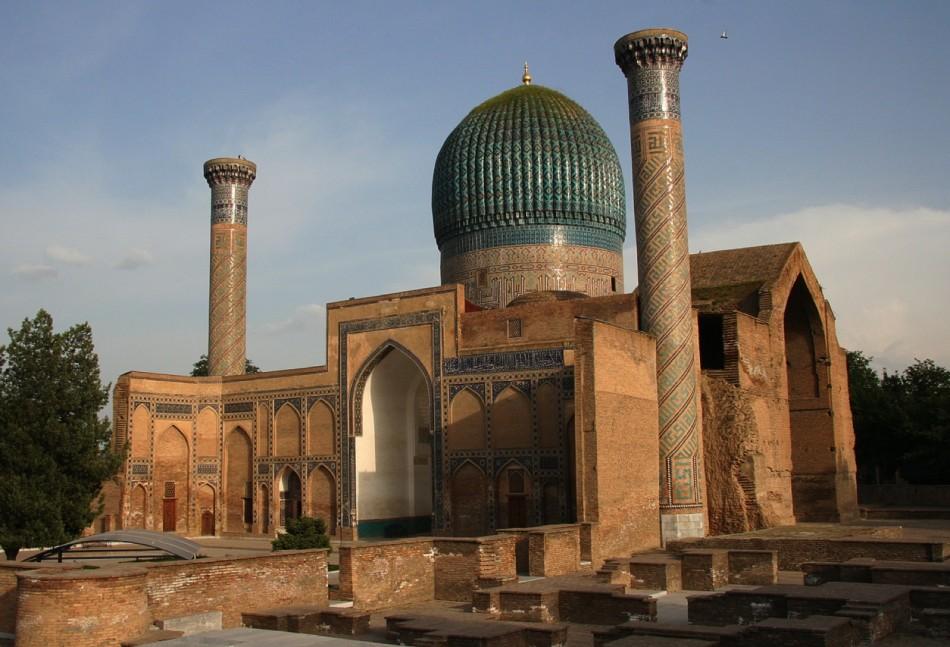 The Gur-Emir mausoleum